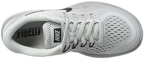 Trail Wolf Platinum Black Grey Zapatillas RN Nike para Wmns Pure Grey Mujer Flex 2017 Gris Cool de 002 Running BHFYq1x