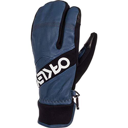 Oakley Factory Winter Trigger 2 Men's Snowboarding Mitten Gloves - Dark Blue/Large
