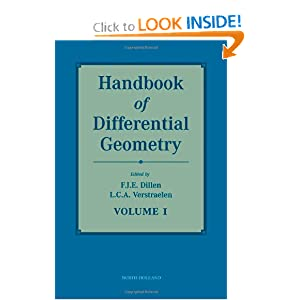 Handbook of differential geometry F.J.E. Dillen, L.C.A. Verstraelen