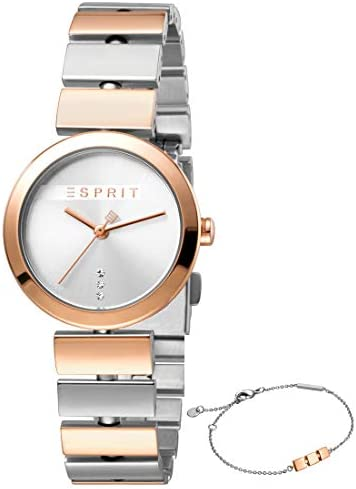 Esprit Uhr Damen Rose Gold