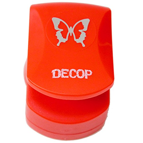 Decoration punch [DECOP ? Dekoppu Embossed Punch Butterfly Deco Craft Punch