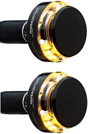 Motogadget M Blaze Disc LED Bar End Right Side Indicator Black