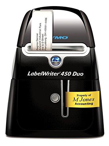 DYMO LabelWriter 450 Duo - Impresora de etiquetas (Térmica directa, 600 x 300 DPI