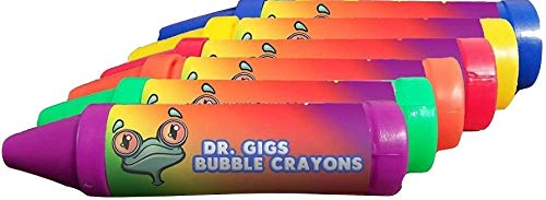 Crayon Bubbles, 6 Pack - Multiple Bright and