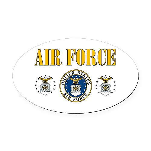 Oval Car Magnet United States Air Force Military Seal
