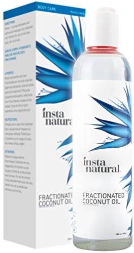 Buy now Fractionated Coconut Oil - 100% Pure - Liquid Moisturizer for Skin,