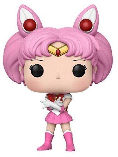Funko Pop Anime: Sailor Chibi Moon w/Luna P. Collectible Vinyl Figure ()