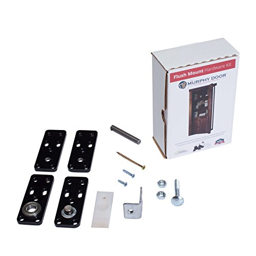 Murphy door ID.HINGEKIT Cabinet Door Hinge System with New Pin, Non Handed, Aluminum/Steel, 4