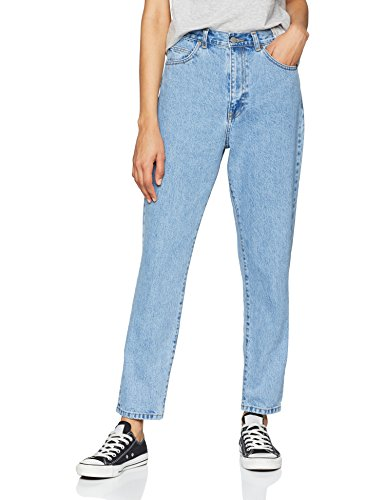 Nora Donna light Denim Retro Blu G81 Jeans Straight Dr w5qY5I