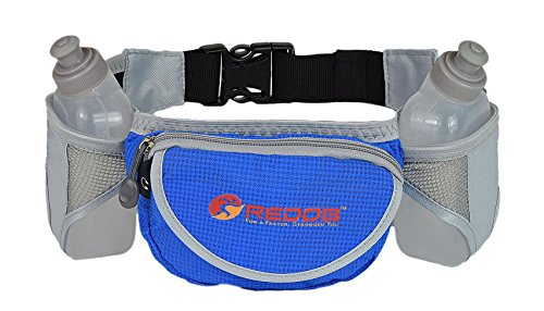Durable Handy Running Hydration Belt ~ With 2 bottels included 10 Oz Each ~ Perfect Fuel Belt  ~ Runners Waist Pack by Redob Review