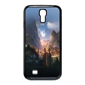Samsung Galaxy S4 9500 Cell Phone Case Black af67 mountain art illust anime peaceful OJ458821