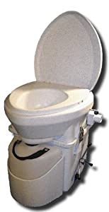 Nature's Head Self Contained Composting Toilet with Close