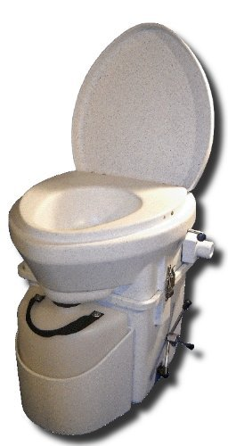 Nature's Head Self Contained Composting Toilet with Close Quarters Spider Handle Design (Composting Toilet)