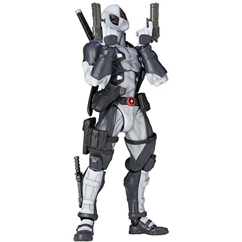Kaiyodo figure complex AMAZING YAMAGUCHI DEAD POOL X - FORCE .ver Deadpool XForce version about 160mm Action Figure Revoltech Japan Import