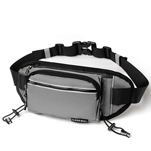 [해외]달리기 파우치 허리 파우치 산책 가방 조깅 현관 러닝 벨트 통기성 초경량 방수 초대형 수납 반사 소재 조절 가능한 남녀 공통 / Running Pouch Waist Pouch Walking Bag Jogging Pouch Running Belt Breathable Ultra Light Waterproof Ultra Large...