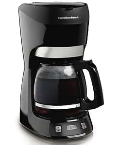 Hamilton Beach 12-Cup Coffee Maker with Digital Clock (49467)