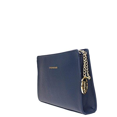 Trussardi Jeans 75B494XX Pochettes Donna BLU TU