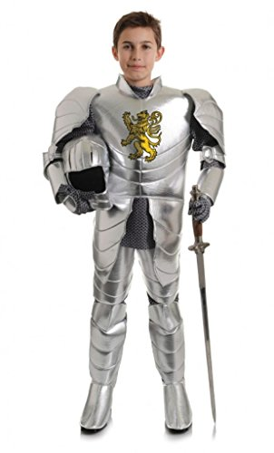Underwraps Big Boy's Boy's Shining Knight Costume, Small Childrens Costume, Silver, Small for $<!--$42.88-->