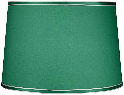 Emerald Green Hardback Lamp Shade 14x16x11 (Spider) - ()