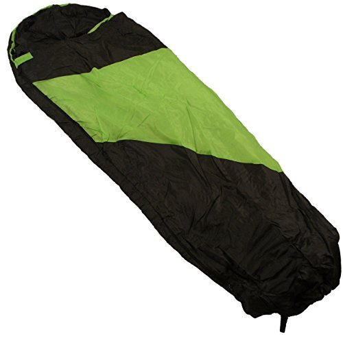 Kaufland 40º Superlite Mummy Sleeping Bag Green/Black (Zone Bag Mummy Sleeping)