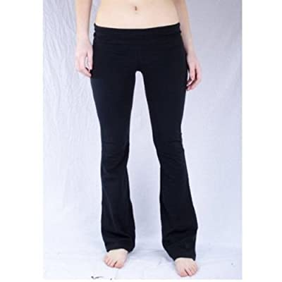 Fold Over Waist Solid and Contrast Lounge Pants