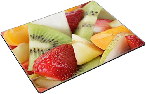 MSD Place Mat Non-Slip Natural Rubber Desk Pads design: 29163514 fresh mix fruit salad with strawberry kiwi and peach close (Kiwi Mix)