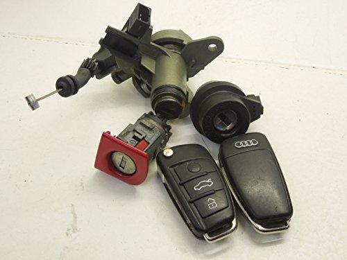 Audi A4 B7 3 Button Keys Ignition Barrel Door and Boot Lock Set: