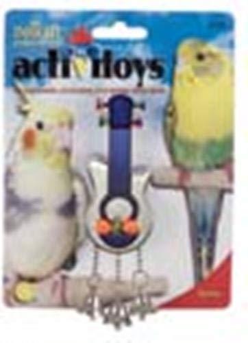 JW Pet Company Activitoys Guitar Bird Toy