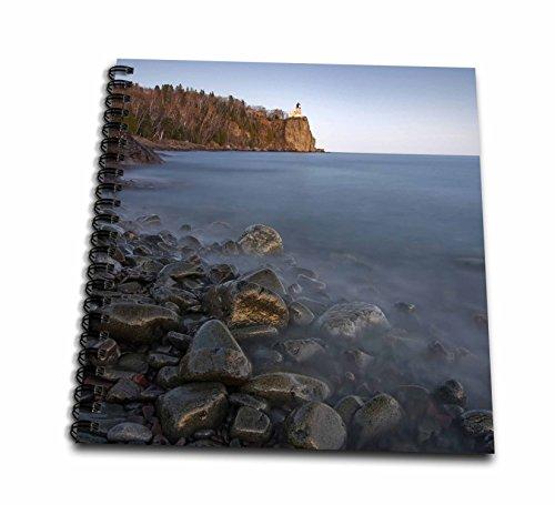 3dRose db_91381_2 USA, Minnesota, Split Rock Lighthouse, Lake Superior - US24 DSV0016 - David Svilar - Memory Book, 12 by ()
