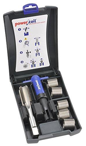 - PowerCoil 3523-20.00K Metric Free Running Coil Threaded Insert Kit, 304 Stainless Steel, M20-1.5 Thread Size, 30 mm Installed Length