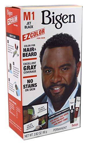 Bigen Ez Color For Men Jet Black Kit (2 Pack) (Bigen Mens Beard Colour Natural Black B101)