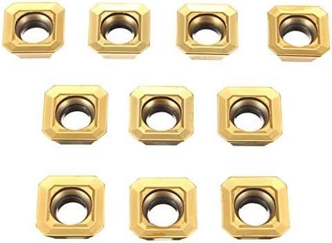 Carbide Werkzeug-Zubehör, CNC-Werkzeugzubehör, Ma Karbid-Einsätze for Drehwerkzeuge, 10 SEHT1204AFSN-X45 BP010 SEHT43AFSN-X45 45 °