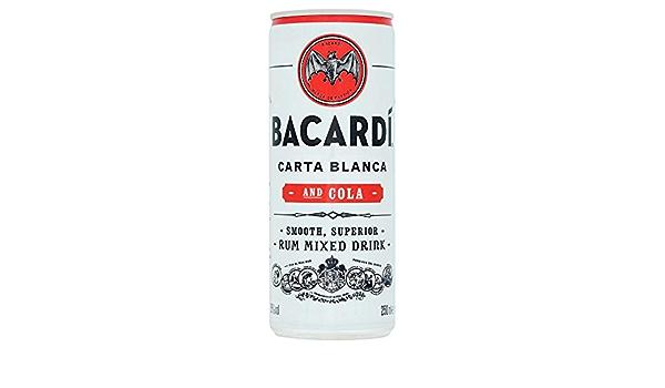 Bacardi Cóctel preparado Bacardí Cola listo para tomar lata ...