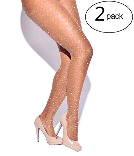 3b5005140 Women s 2 Pairs Fishnet Stockings High Waist Hollow Out Fishnet Pantyhose  Mesh Tights Legging Hosiery