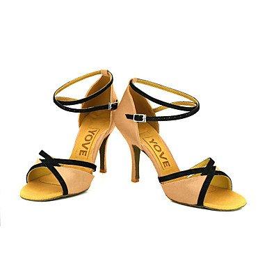 Morado Blanco Red Personalizado Latino Amarillo Zapatos Tacón Rojo baile Personalizables de Rosa Salsa Azul COnx0xXfwq