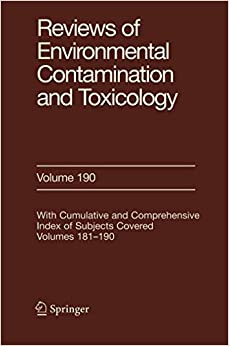 Libros Para Descargar Reviews Of Environmental Contamination And Toxicology 190 Epub Gratis Sin Registro