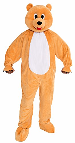 Forum Novelties Men's Honey Bear Plush Mascot Costume, Multi, Standard (Costumes /care Bear Halloween Adult)