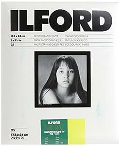 Ilford MultiGrade IV FB Fiber 5K - Papel fotográfico (17.8 x 24.0cm)