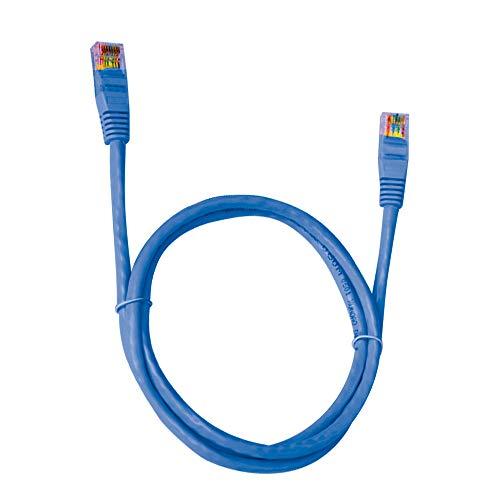 Cabo Rede CAT.6 1.5M PC-ETH6U15BL Patch Cord, Plus Cable, Cabos para computadores e notebooks, Azul