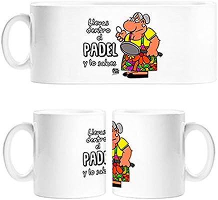 Diver Tazas Taza Padel Tenis Llevas Dentro el Padel y lo Sabes ...