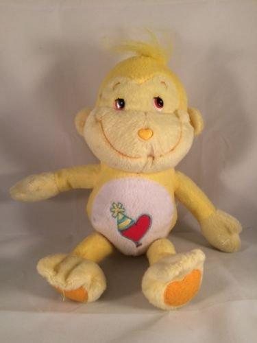 2005 CareBear Cousin Playful Heart Monkey Yellow 8