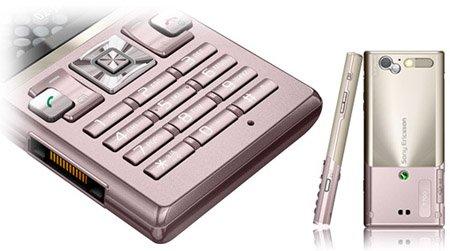 Sony Ericsson T700 Quadband Cellular Phone International Version with No Warranty (Pink)