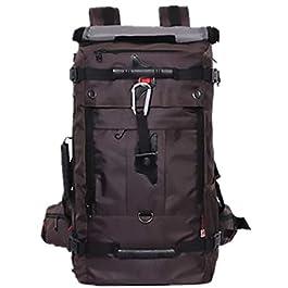 40L personality oxford backpack men large capacity waterproof travel Bag outdoor bag handbag OS91 kf