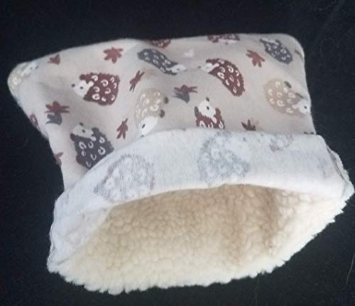 - Cozy Cool Hedgehog/Rodent Cuddle Sack-Sherpa! Select your style!! FREE SHIPPING!!