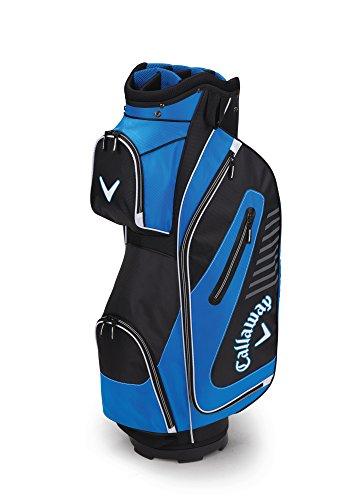 (Callaway Golf 2017 Capital Cart Bag, Black/Blue/White)