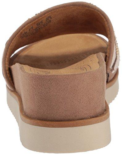 NATURAL SOUL Womens Kiki Slide Sandal Buff NFCOC8lAO