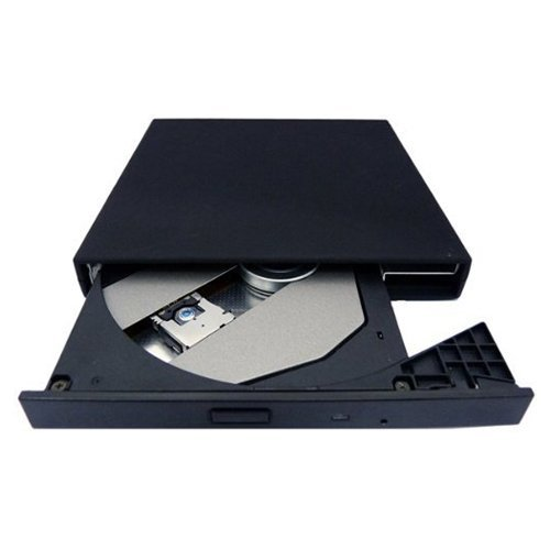 Acer Aspire CD-ROM Drive - TOOGOO(R) USB 2.0 External Slim CD-ROM Drive for Acer Aspire Black by TOOGOO(R)