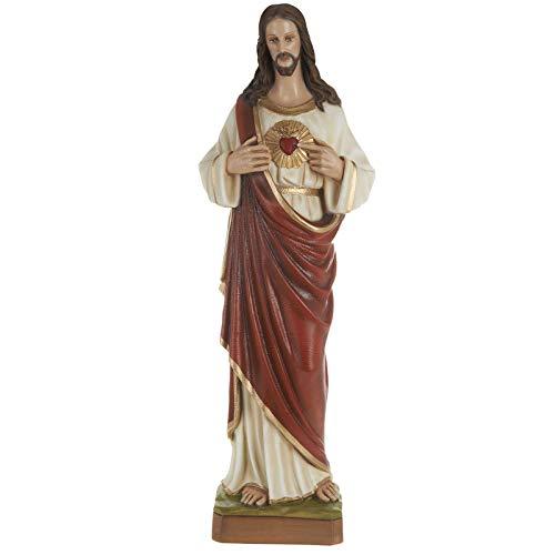 Holyart Sacred Heart of Jesus, Fiberglass Statue, 80 ()