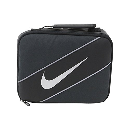 Nike Contrast Insulated Reflective Anthracite Tote Lunch Bag
