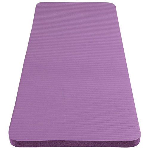 Yoga Knee Pad Cushion for Women and Men15mm (5/8) ThickYoga Knee Complements Your Full Sized Yoga Mat by Healpy (Purple)